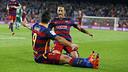 ゴールを喜ぶネイマールとスアレス / MIGUEL RUIZ - FCB