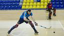 Sergi Panadero, en un entrenamiento. FOTO: FCB
