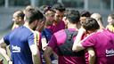 Luis Enrique emmène tous ses joueurs à Madrid / MIGUEL RUIZ - FCB