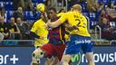 Jallouz in action when the sides met at the Palau / VÍCTOR SALGADO-FCB