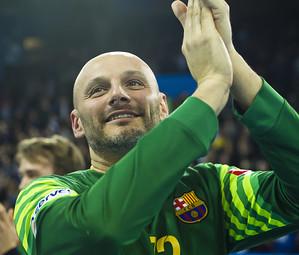 Saric, uno de los jugadores que se despedirá del Palau / FOTO: VÍCTOR SALGADO-FCB