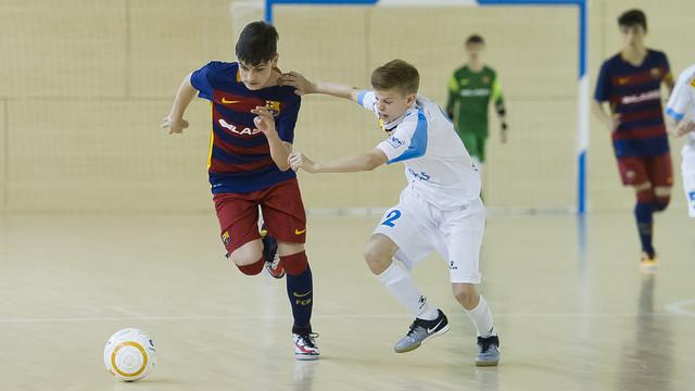 L'Infantil va guanyar la Lliga a l'últim partit del campionat