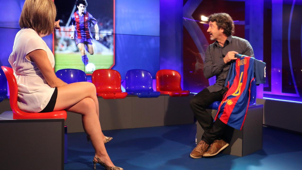 Joseo Mari Bakero a l'Hora B de Barça TV / FCB