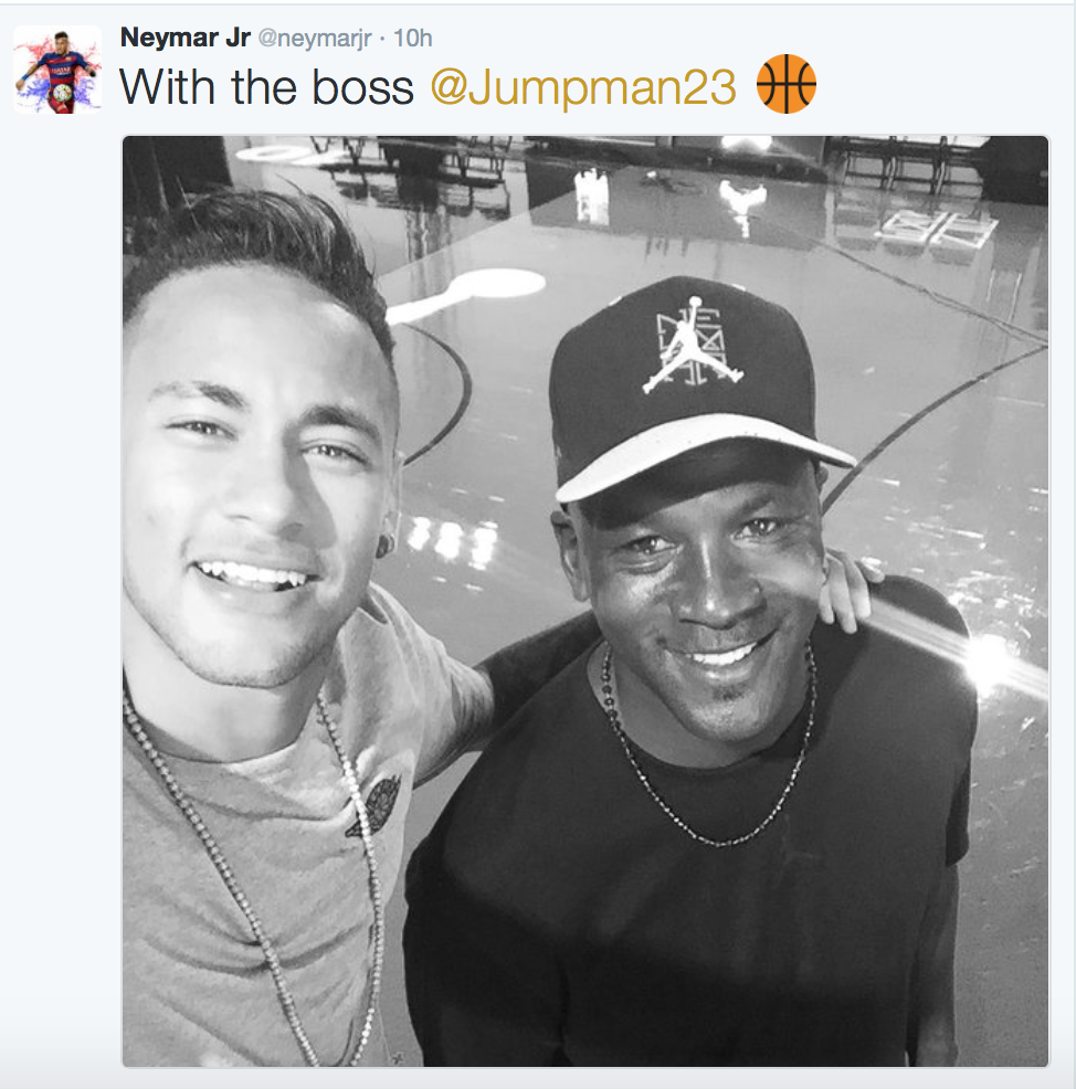 Neymar Jr & Michael Jordan