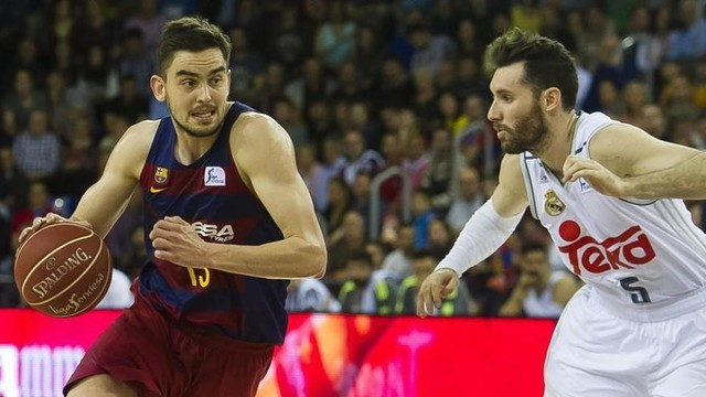 Satoransky and Rudy in action in a previous meeting / FCB ARCHIVE