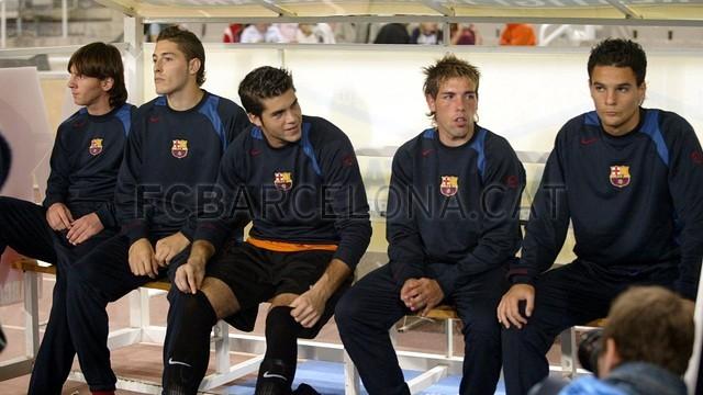 El debut de Messi