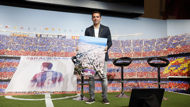 For Xavi it's not goodbye, it's 'see you later' | FC Barcelona